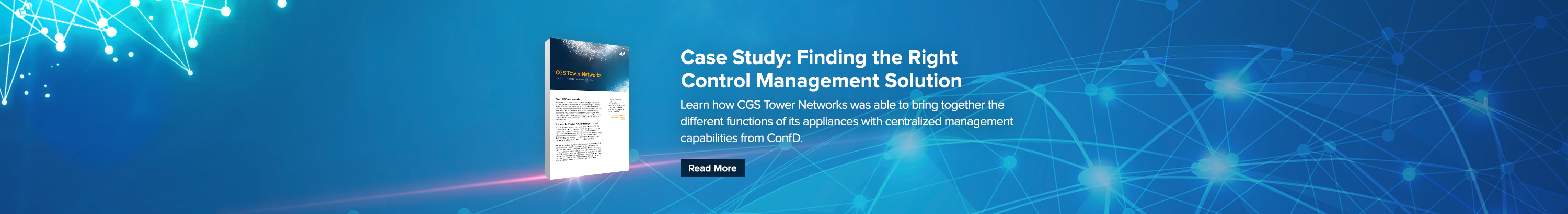 CGS Tower Networks Case Study Redirect