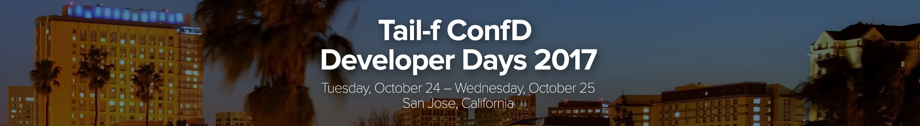 ConfD Developer Days 2017